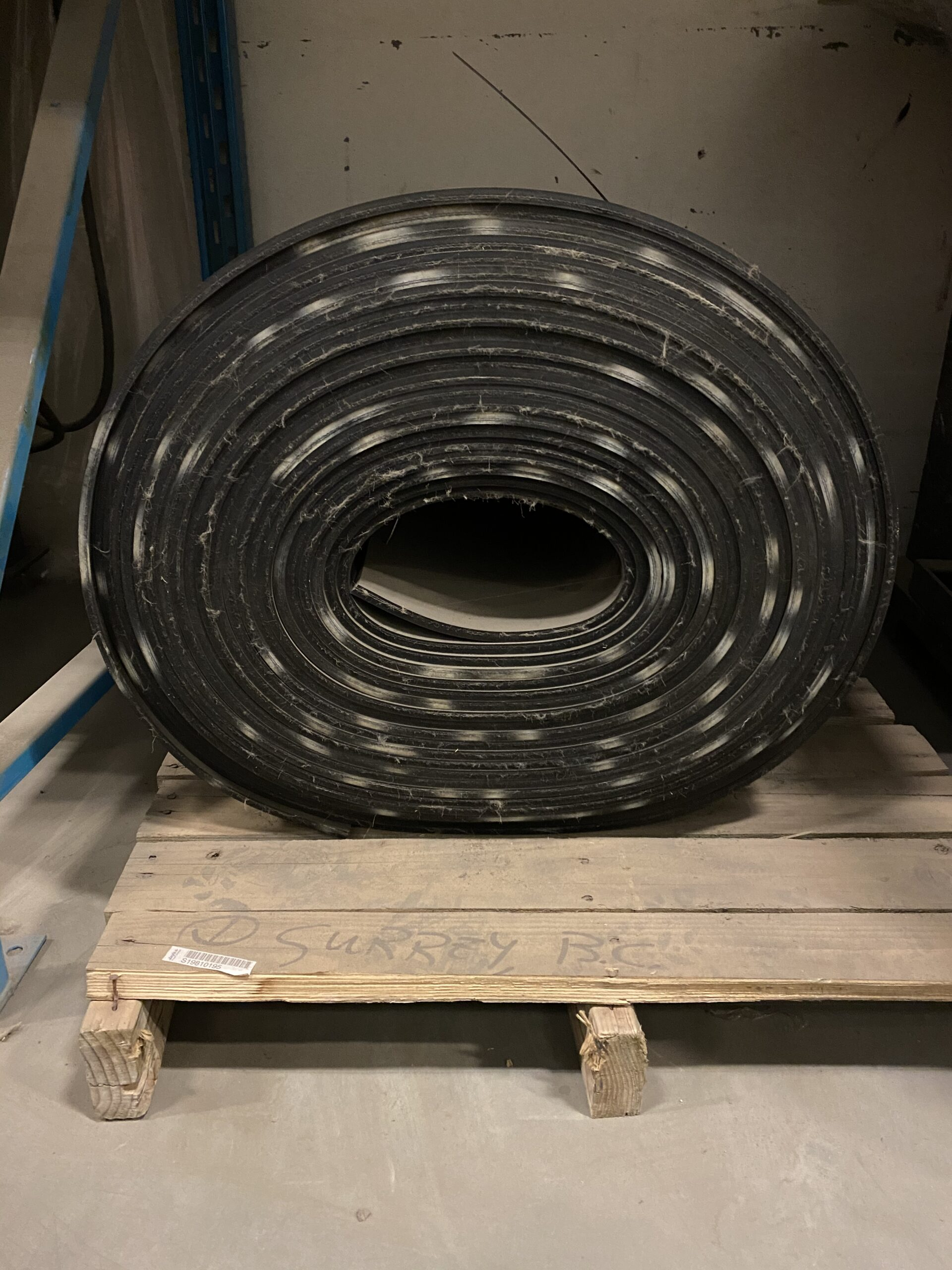 "86FT of 24"" 2-Ply Conveyor Belt"